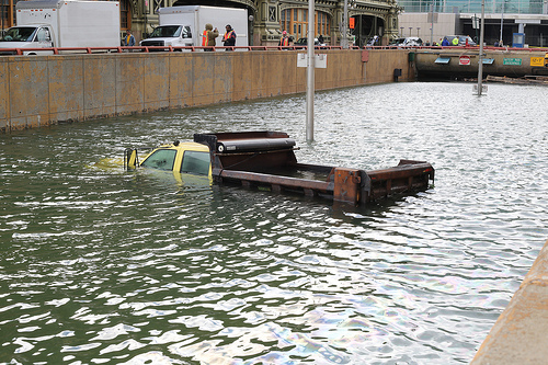 battery park tunnel flooded october 2012